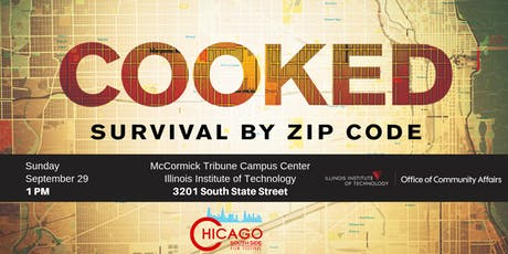 COOKED: Survival by Zip Code  tickets