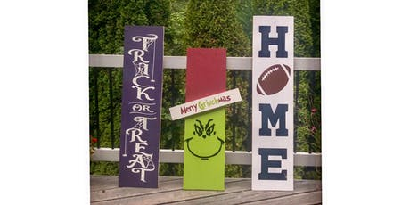 Painting Party Porch Signs tickets