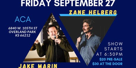 Jake Marin and Zane Helberg Live in KC tickets
