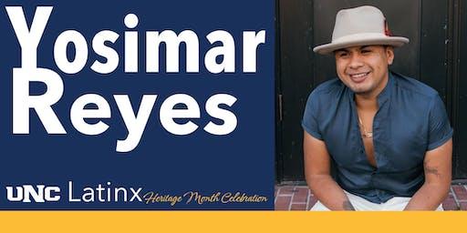 Latinx Heritage Month Celebration 2019 Keynote Speaker: Yosimar Reyes