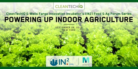 Powering Up Indoor Farming tickets