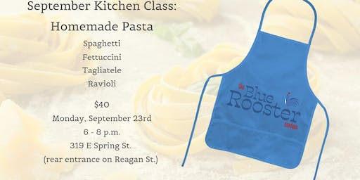 BRC Kitchen Class: Homemade Pasta