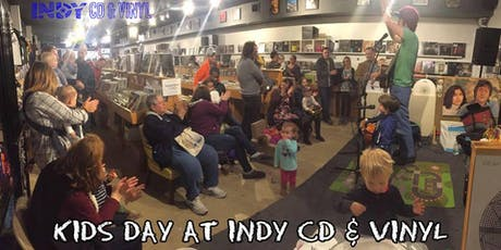 Monthly KIDS DAY at Indy CD & Vinyl with Mr. Daniel! tickets