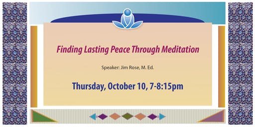 Finding Lasting Peace through Meditation