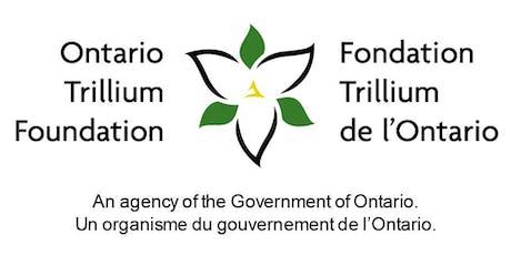 Vous faites une demande de subvention de croissance de la FTO? Participez à notre atelier à Toronto (centre ville)! tickets