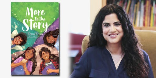 Talk & Signing with Hena Khan at Patrick Henry Library