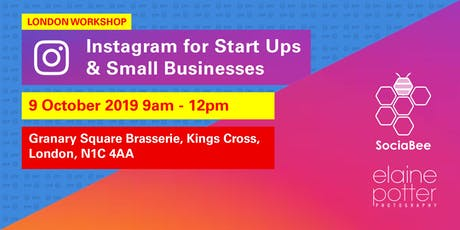 Instagram for Start Ups & Small Businesses  tickets