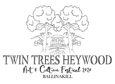 Twin Trees Heywood Festival, Ballinakill logo
