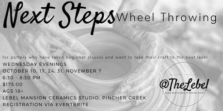 Next Steps Wheel Class tickets