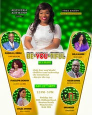 Be-YOU-Tiful - Be a brand tickets