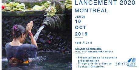 Lancement programmation - Montréal tickets