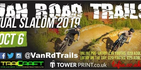 Trailcraft Van Road Dual Slalom 2019 tickets