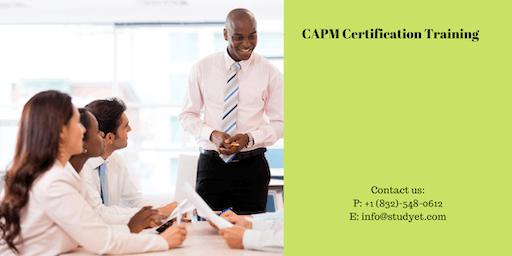 CAPM Online Classroom Training in Topeka, KS