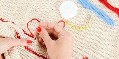 Sewing/Cross Sitich - Drop-in Workshop