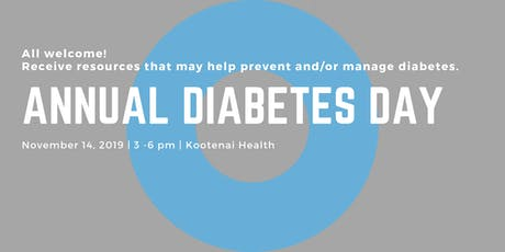 2nd Annual Diabetes Day tickets