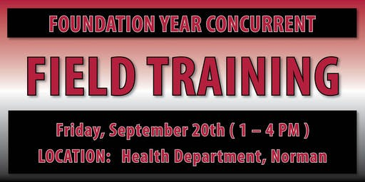 Foundation Year Concurrent Field Training - Norman
