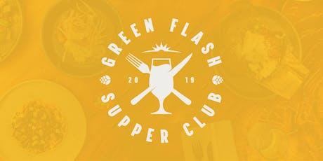 Green Flash Supper Club with Golden Door tickets