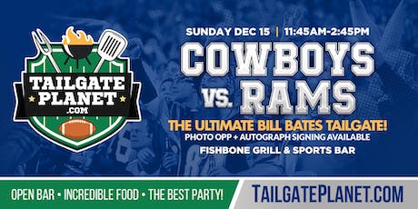 Eddie Dean's Tailgate – Cowboys vs. Rams tickets