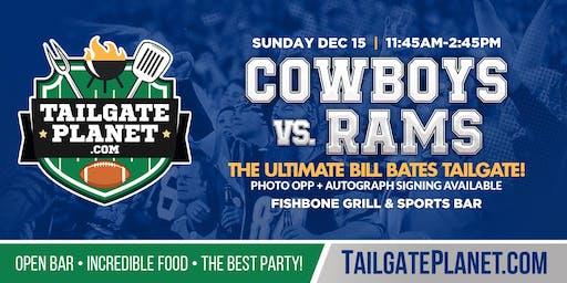 Eddie Dean's Tailgate – Cowboys vs. Rams