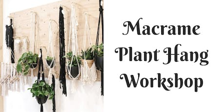 Plant Hang Workshop at Barrels and Branches tickets