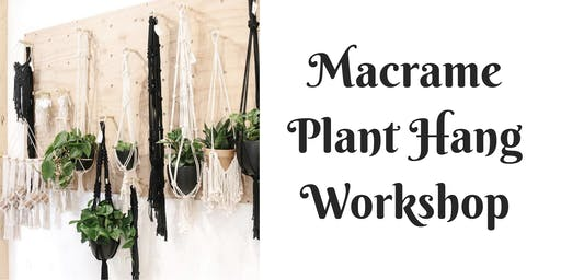 Plant Hang Workshop at Barrels and Branches