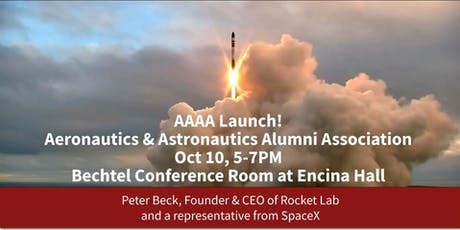 AAAA Launch! Aero/Astro Alumni Association tickets