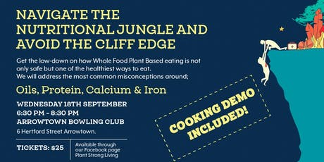 Navigate the Nutritional Jungle and Avoid The Cliff Edge tickets