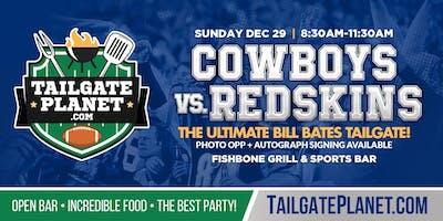Eddie Dean's Tailgate – Cowboys vs. Redskins