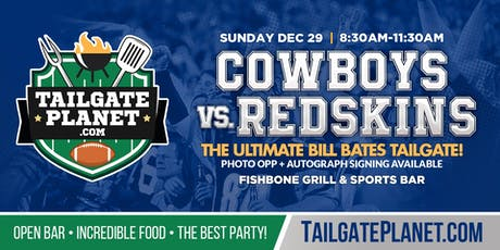 Eddie Dean's Tailgate – Cowboys vs. Redskins tickets