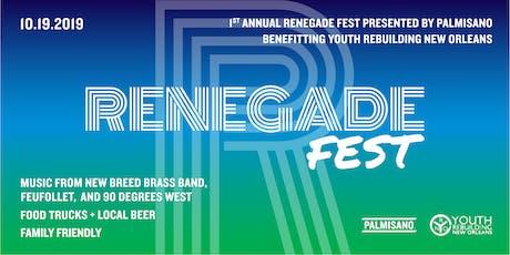 Renegade Fest tickets