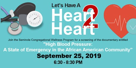 Let's Have a Heart to Heart Community Conversation  tickets