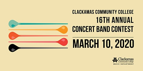 2020 Clackamas Community College NW Invitational Concert Band Contest tickets