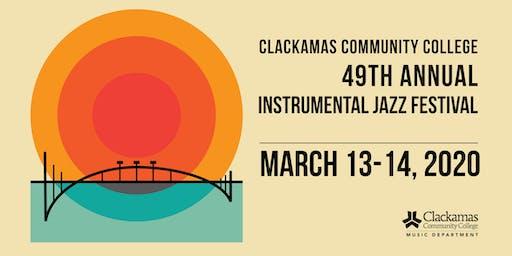 2020 Clackamas Community College Instrumental Jazz Festival
