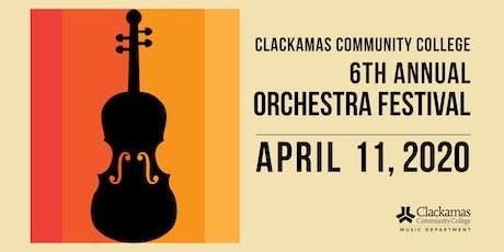 2020 Clackamas Community College Orchestra Festival tickets