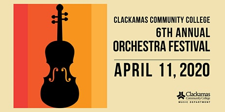 2020 Clackamas Community College Orchestra Festival tickets