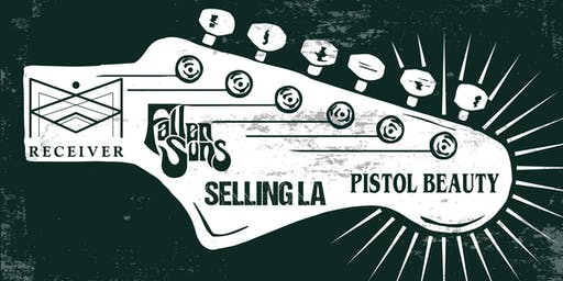 PISTOL BEAUTY, SELLING L.A., FALLEN SUNS, RECEIVER