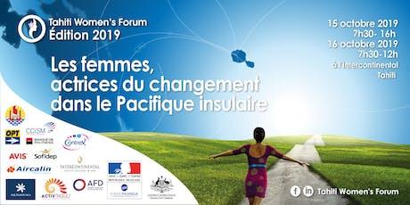 Tahiti Women's Forum - Les femmes actrices du changement dans le Pacifique billets
