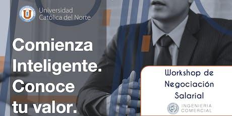 Workshop de Negociación Salarial entradas