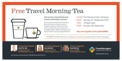 TravelManagers Travel Morning Tea