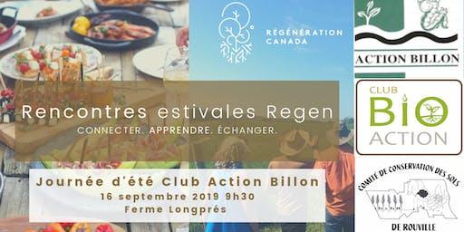 Rencontres estivales Regen - Journée d'été Club Action Billon