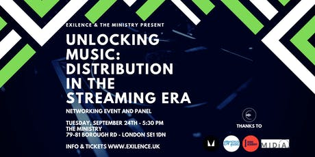 Unlocking Music: Distribution in the Streaming Era tickets