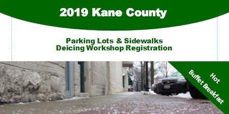 2019 Kane County Parking Lots & Sidewalks Deicing Workshop tickets
