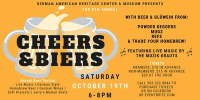 8th Annual Cheers & Biers: Beer Tasting