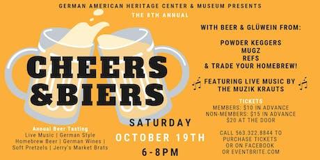 8th Annual Cheers & Biers: Beer Tasting tickets