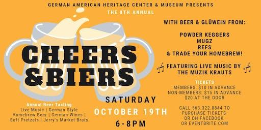8th Annual Cheers & Biers: Beer Tasting