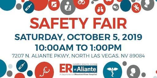 ER at Aliante Community Safety Fair