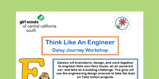 Think Like An Engineer - Daisy Journey Workshop - Hanford