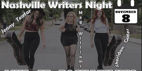 Nashville Singer/Songwriter Night tickets
