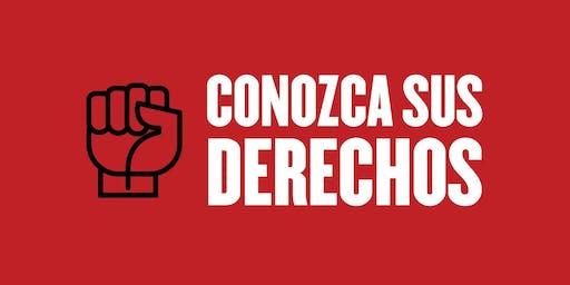 CANCELLED-  Conozca sus Derechos-Fall 2019