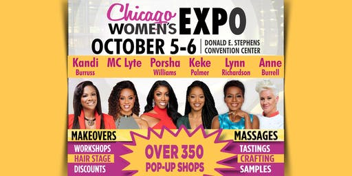 Chicago Ultimate Women's Expo October 5-6, 2019